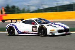 #100 Dragonspeed Ferrari 458 Italia : Henrik Hedman, Ryan Dalziel, Elton Julian, Anthony Lazzaro