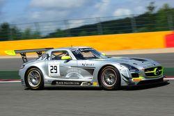 #29 Black Falcon Mercedes SLS AMG GT3: Nico Verdonck, Adam Christoldoulou, Andreas Simonsen