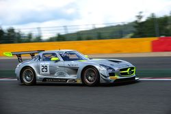 #29 Black Falcon Mercedes SLS AMG GT3 : Nico Verdonck, Adam Christoldoulou, Andreas Simonsen