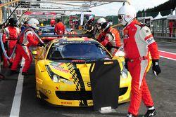 #52 AF Corse Ferrari 458 Italia: Adrien de Leener, Cedric Sbirrazzuoli, Raffaelle Gianmaria, Toni Vi