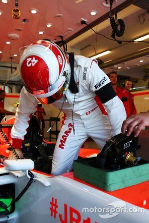 Фабио Ляймер, тестовый и резервный пилот Manor F1 Team