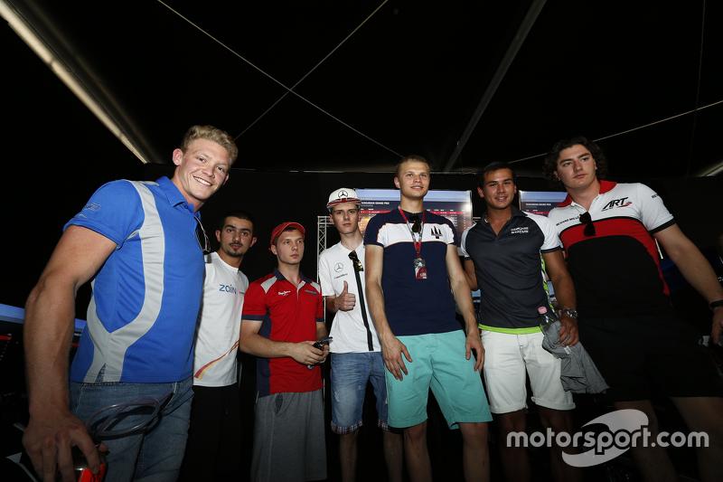Artur Janosz, Trident, Zaid Ashkanani, Campos Racing, Aleksdaner Bosak, Arden International, Mitch G