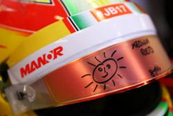 Шлем Роберто Мери, Manor F1 Team
