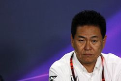 Yasuhisa Arai, Honda Motorsport Chief Officer in the FIA Press Conference