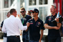 Daniel Ricciardo, Red Bull Racing with Jonathan Wheatley, Red Bull Racing Team Manager