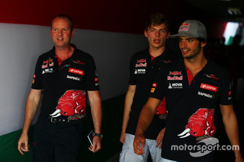 Carlos Sainz Jr., Scuderia Toro Rosso dengan Max Verstappen, Scuderia Toro Rosso