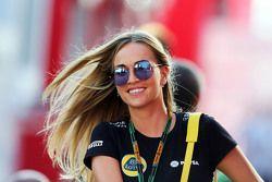 Carmen Jorda, pilote de développement Lotus F1 Team