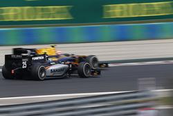 Alex Lynn, DAMS Y Sergio Canamasas, Hilmer Motorsport