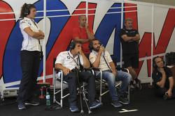 Alex Zanardi and Timo Glock