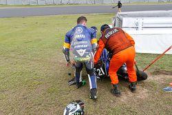 #21 Yamaha: Pol Espargaro coinvolto in un incidente