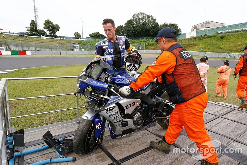 # 21 Yamaha: Pol Espargaró involucrado en un accidente
