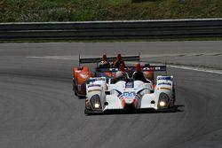 #54 CORE autosport Oreca FLM09: Jon Bennett, Colin Braun