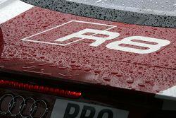 Audi R8 detalle lluvia