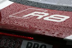 Audi R8 rain detail