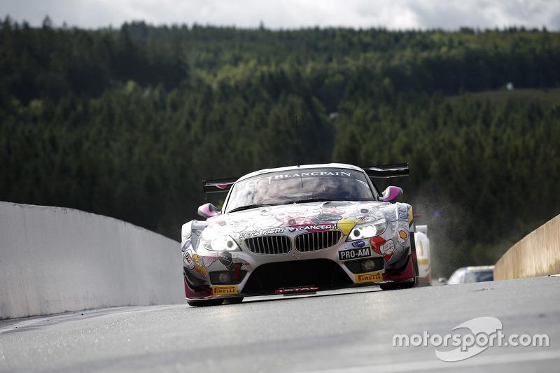 #240 BMW Racing Against Cancer BMW Z4: Pascal Witmeur, Jean-Michel Martin, Eric van de Poele, Marc D