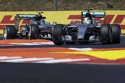 Lewis Hamilton y Nico Rosberg, Mercedes AMG F1 Team
