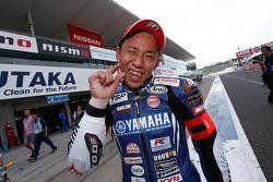 Ganador de la pole Katsuyuki Nakasuga