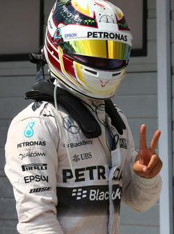 поул позиція для Льюїс Хемілтон, Mercedes AMG F1