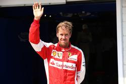 Третє місце Себастьян Феттель, Ferrari
