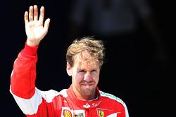 Третє місце Себастьян Феттель, Scuderia Ferrari