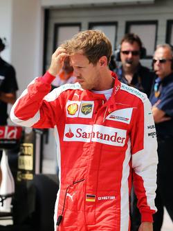 Себастьян Феттель, Ferrari в закритому парку