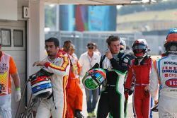 Zaid Ashkanani, Campos Racing, Seb Morris, Status Grand Prix ve Aleksander Bosak, Arden Internationa