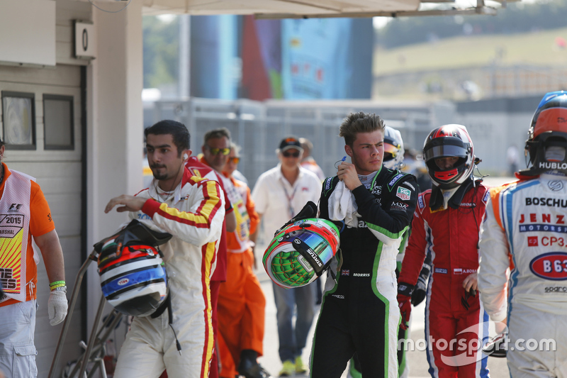 Zaid Ashkanani, Campos Racing, Seb Morris, Status Grand Prix and Aleksander Bosak, Arden International