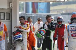 Заід Ашканані, Campos Racing, Себ Морріс, Status Grand Prix та Александер Босак, Arden International