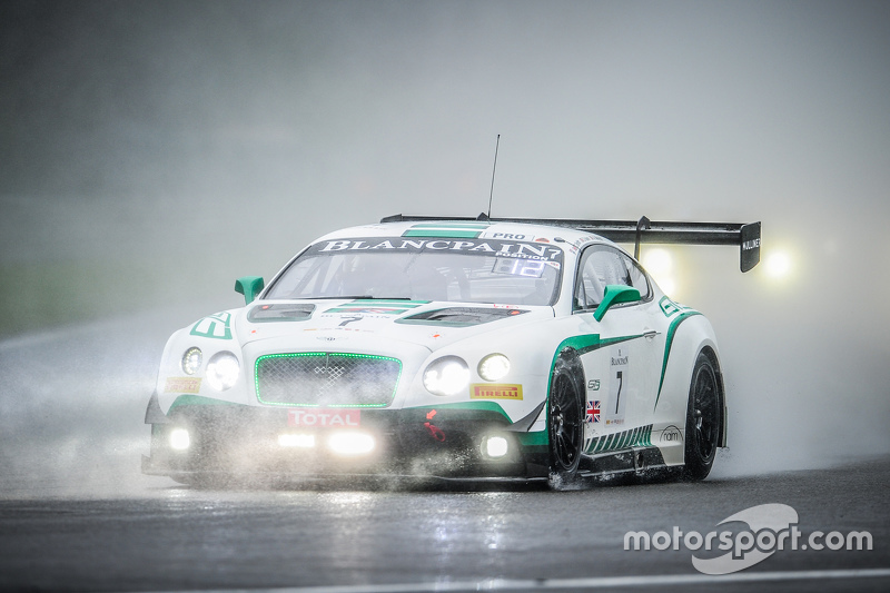 #7 Bentley Team M-Sport Bentley Continental GT3: Steven Kane, Guy Smith, Andy Meyrick