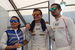 Samin Gomez, Campos Racing, Alex Palou, Campos Racing ve Zaid Ashkanani, Campos Racing