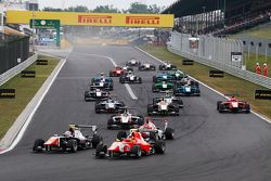 Luca Ghiotto, Trident and Emil Bernstorff, Arden International battle round the corner with rest of