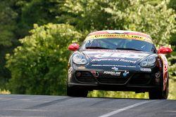 #87 Rebel Rock Racing Porsche Cayman: Mark Pombo, Rueben Pardo