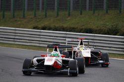 Alfonso Celis Jr., ART Grand Prix leads Samin Gomez, Campos Racing