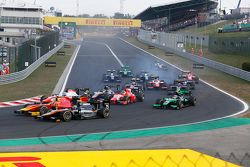 Sergio Canamasas, Hilmer Motorsport, Alexander Rossi, Racing Engineering & Nicholas Latifi, MP Motor