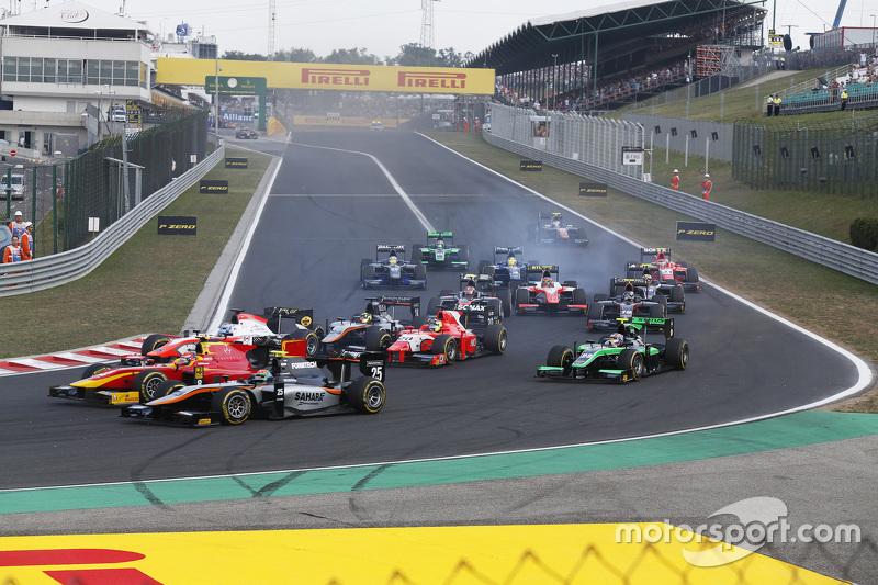 Sergio Canamasas, Hilmer Motorsport, Alexander Rossi, Racing Engineering & Nicholas Latifi, MP Motorsport