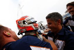 Le vainqueur Luca Ghiotto, Trident