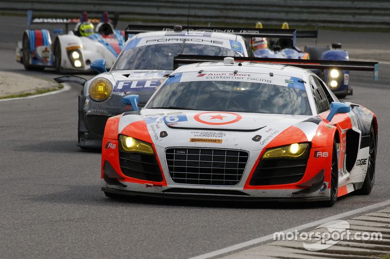 #76 Compass 360 Racing Audi R8 LMS: Ray Maсин, Pierre Kleinubing