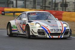 #28 Delahaye Racing Team Porsche 997 GT3R : Emmanuel Orgeval, Pierre Bordet, Alexandre Viron