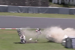 El violento accidente de Casey Stoner
