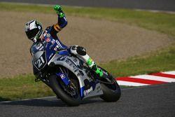 #21 Yamaha: Katsuyuki Nakasuga, Pol Espargaro, Bradley Smith in pole position