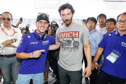Bradley Smith with Keanu Reeves