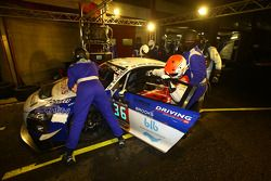 #36 Sainteloc Racing Audi R8 LMS Ultra : Mickael Blanchemain, Gilles Lallement, Philippe Haezebrouck