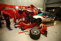 #50 AF Corse Ferrari 458 Italia: Garry Kondakov, Alexander Moiseev, Riccardo Ragazzi