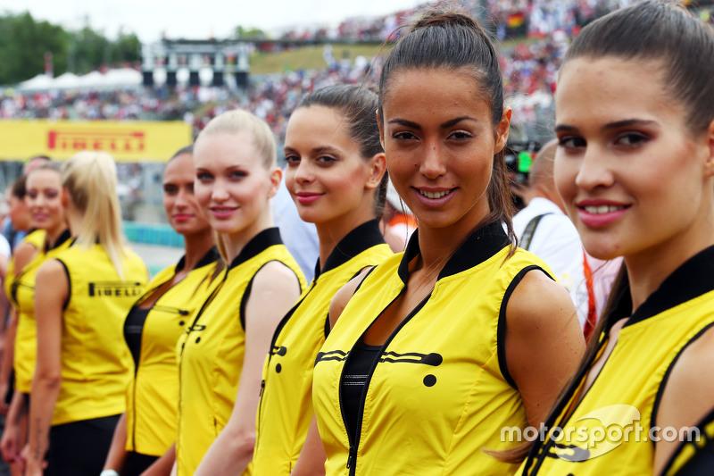 Chicas de la parilla GP de Hungría