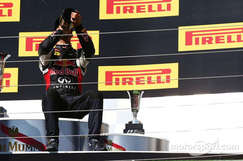 Peringkat ketiga Daniel Ricciardo, Red Bull Racing