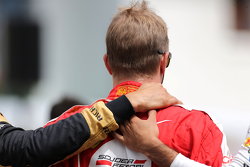Schweigeminute für Jules Bianchi: Kimi Räikkönen, Scuderia Ferrari