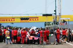 Will Stevens, Manor F1 Team on the grid