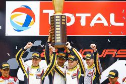 Markus Palttala, Nicky Catsburg, Lucas Luhr, Marc VDS Racing Team
