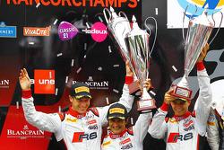Frank Stippler, Stéphane Ortelli, Nico Müller, Belgian Audi Club Team WRT