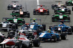 Pal Varhaug, Jenzer Motorsport and Matthew Parry, Koiranen GP